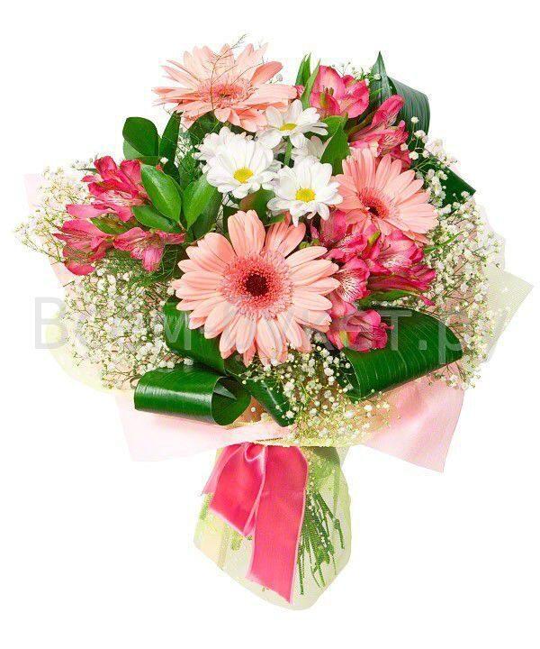Букет из цветов для девочки